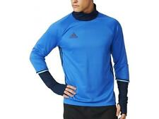 Adidas NEW Condivo 16 Soccer Mens Training Top Long Sleeve Blue Climacool Shirt