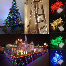 10M Christmas 100LED Colorful String Party Plug Fairy Lights Home Outdoor Decor