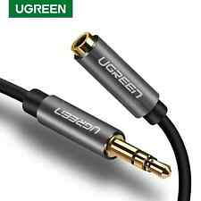 Ugreen 3.5mm Male To Female Cable Audio Stereo Headphone Adapter Extension Plug