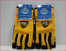 LOT 2- Westchester COLD Weather HI-DEXTERITY Work GLOVES - 40g Thinsulate L / XL