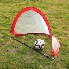 2 Sets Portable Children Mini Football Goal Nets Post Kids Soccer Goals NEW L2R1