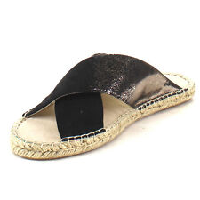 C LABEL AB82 Women's Criss Cross Easy Slip on Espadrille Flats New In Box