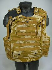 British Army Osprey Desert DPM MK3 Body Armour Flak Vest Molle Cover 190/120 HU2