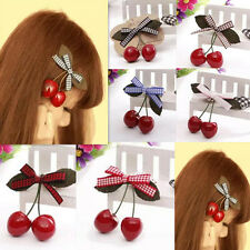 2pcs Clips Baby Child Girl Cherry Hot Hair Accessories Hair Pin New Hairpin