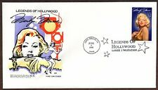 1995 MARILYN MONROE~LEGENDS OF HOLLYWOOD~HF CACHET FIRST DAY SALE LONG BEACH, CA