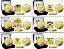 Select Your World Series Champions Championship Team 24KT Gold Medallion Coin