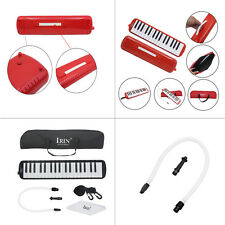 Great IRIN 32 /37 Piano Keys Melodica & Carrying Bag - Black / Red
