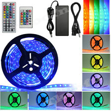 5M-20M 110V 3528/5050 SMD RGB 300 LED Strip Rope Tape Roll Light Waterproof Car