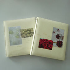 Photo Album Wedding photo Guestbook 60 Pages Roses in cream or red