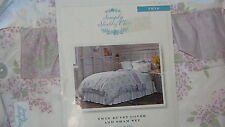 Simply Shabby Chic ™ LILACS LAVENDER Twin Duvet with Pillow Sham--NWT