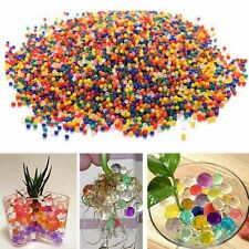 10bags Jelly Crystal Beads Water Plant Flower Soil Mud Water Pearls Gel Balls