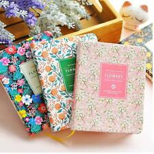 1PC Cute Floral Flower Schedule Book Diary Weekly Planner Notebook Office book