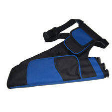 Oxford Cloth 3 Tubes Archery Quiver Back Belt Arrow Holder Storage Carry Bag