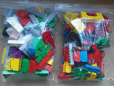 500g LEGO AGE 2-5+ MIX N' MATCH PEOPLE ANIMALS & MONSTERS WHEEL & BUILDING BASES
