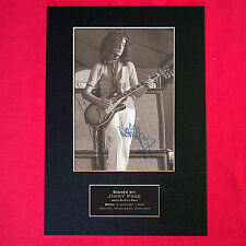 JIMMY PAGE Quality REPRO Autograph Mounted Signed Photo PRINT A4 91