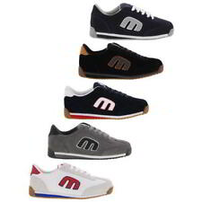 Etnies Lo Cut II LS  Mens Suede Leather Navy Grey Skate Shoes Size UK 7-13
