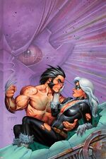Marvel Wolverine & Black Cat: Claws 2 No.3 Cover: Wolverine Lifting Blac… Poster