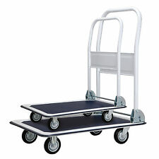150/300KG Folding Platform Hand Truck Trolley Cart Sack Warehouse Transport