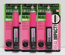 MAYBELLINE Great Lash Real Impact Mascara 0.37 fl oz Choose Colors MADE IN USA
