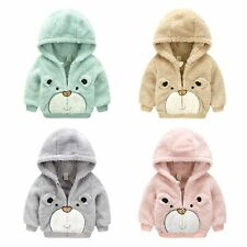 Toddler Infant Baby Boys Girls outerwear Hooded coats Winter Warm Jacket coat