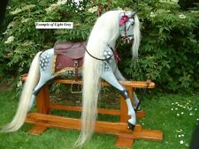 Real Horse Hair, Mane,Tail & Forelock Set on Hide for Rocking Horse Ready to fit