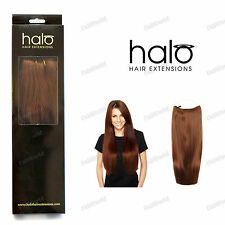 """Halo 16"""" Straight One Piece 100% Indian Remy Human Hair Extensions"""