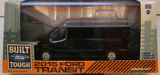 GREENLIGHT COLLECTIBLES 1:43 SCALE DIECAST METAL BLACK 2015 FORD TRANSIT VAN
