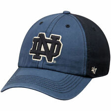Notre Dame Fighting Irish '47 Humboldt Franchise Fitted Hat - Navy/Black - NCAA