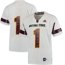 #1 Arizona State Sun Devils adidas Replica Football Jersey - White - NCAA