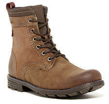new-clarks-darian-hi-high-mens-leather-casual-boots-tobacco-brown