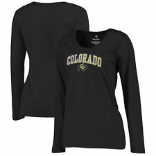 Colorado Buffaloes Women's Campus Long Sleeve T-Shirt - Black - NCAA