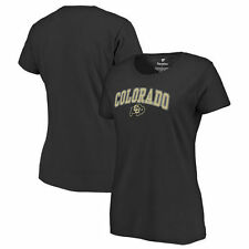 Colorado Buffaloes Women's Campus T-Shirt - Black - NCAA