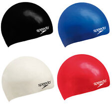 SPEEDO - PLAIN FLAT SILICONE CAP - JUNIOR - 07-993-0000