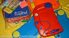 LeapFrog My First 1st LeapPad Learning System Backpack + Variety Lot of Choice