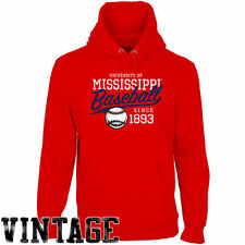 Ole Miss Rebels Ballpark Pullover Hoodie - Cardinal - NCAA