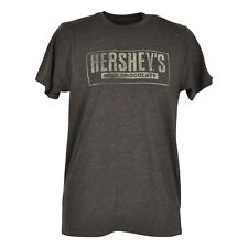 Hersheys Milk Rich Chocolate Distressed Logo Adult Mens Tshirt Tee Candy Kisses