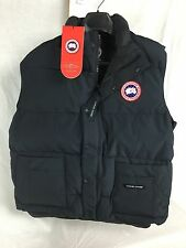 NEW CANADA GOOSE FREESTYLE VEST DOWN INSULATED MEN NAVY HOLOGRAM AUTHENTIC 4150M