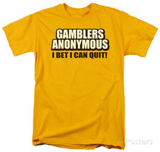 Gamblers Anonymous Apparel T-Shirt - Gold