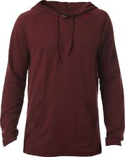 NEW FOX RACING MENS ADULT PITTED HEATHER BURGUNDY LONG SLEEVE TEE SHIRT LS TOP