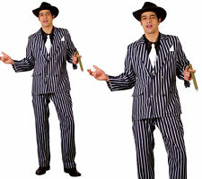 Godfather Gangster Mens Fancy Dress Costume Mafia 1920s Outfit S-XL