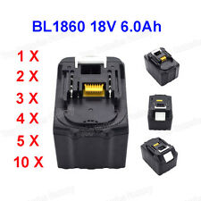 18V Battery for Makita BL1860 BL1830 BL1815 6.0Ah Wholesale New LXT lithium ion