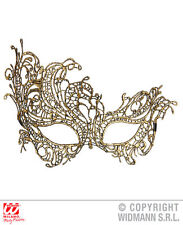 Antique Baroque Lace EyeMask for Moulin Rouge Saloon Girl Wild West Fancy Dress