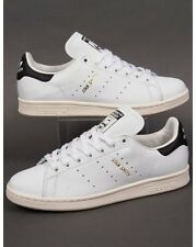 Adidas Originals - Adidas Stan Smith Trainers in White, Black & Gold