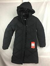 NEW THE NORTH FACE MISS METRO PARKA BLACK WOMEN DOWN JACKET INSULATED LONG WARM