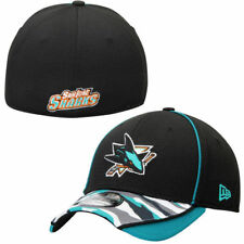 San Jose Sharks New Era 39THIRTY Camstyle Flex Hat - Teal - NHL