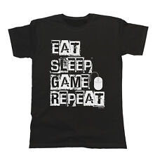 Eat Sleep Game Repeat PC MOUSE T-Shirt Mens Ladies Unisex Fit