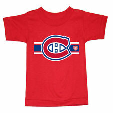Montreal Canadiens Old Time Hockey Toddler Old Striped Logo T-Shirt