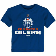 Edmonton Oilers Reebok Preschool Clean Cut T-Shirt - Royal - NHL