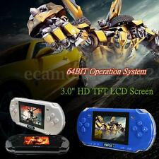 "2GB 3"" LCD Screen PMP 2S 64bit Portable Handheld Game Console Video MP3 Player"