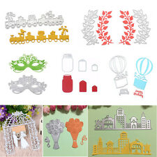 Metal DIY Cutting Dies Stencil Scrapbook Card Album Embossing Craft Decor Tools